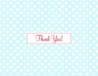 Fab 1950s-style thank you card from Mooks Design