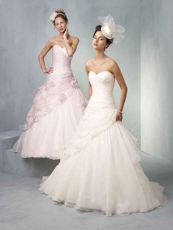 Цвет свадебного платья приметы 4