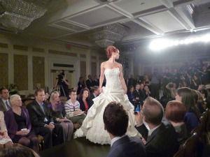 Maggie Sottero catwalk show at New York bridal fashion week