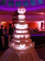 Wedding cake by Hall of Cakes