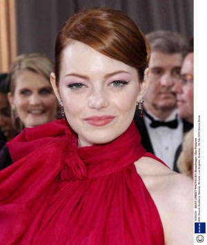 wedding-hair-inspiration-emma-stone-oscars