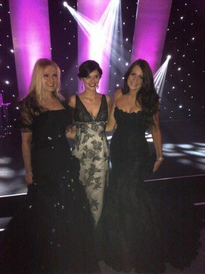 BBEH awards - Pippa Ward wears Enzoani