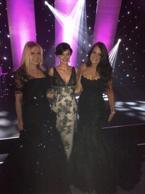 BBEH awards - Pippa Ward wears Enzoani