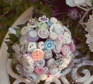 Button bouquet made by iheartbuttonsuk available at folksy.com