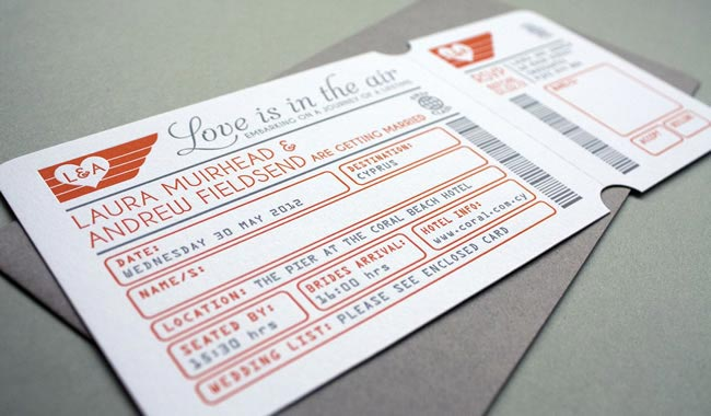 Unusual Wedding Invitations Stationery With The Wow Factor