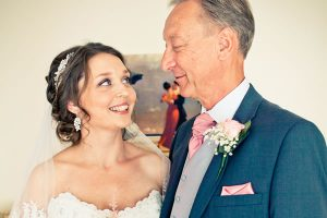 Bride and her father - Father of the Bride Duties: Things Your Dad can do for you