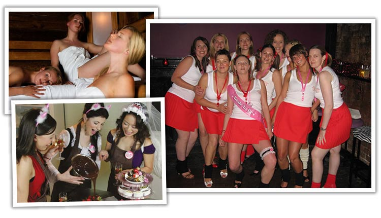 hen night themes