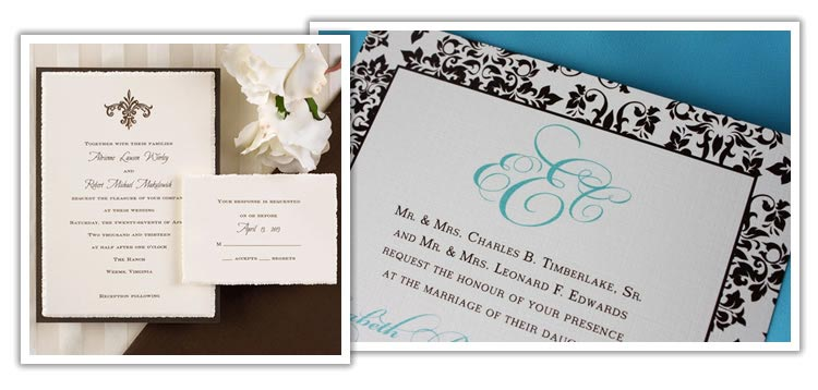 A royal invitation - wedding stationery design fit for a Queen