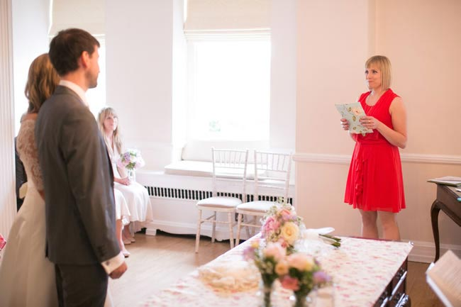 Wedding guest performing reading Thoughtful Wedding Readings for Your big Day