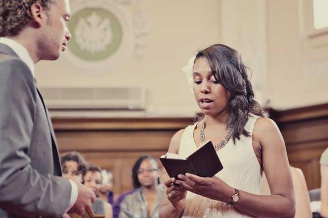 7 Non-Cheesy Wedding Readings for Long-Term Couples