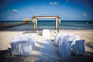 Beach weddings abroad are beautiful