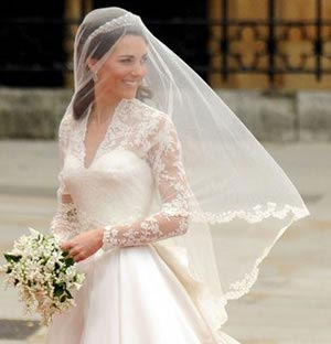 Kate Middleton Veil