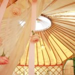 what-is-a-wedding-yurt-tea-party-photoshoot-interior