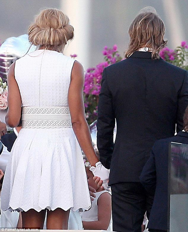Cathy Guetta Children Cathy-guetta-short-wedding