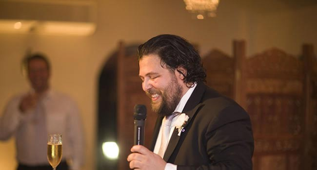 The groom's speech - 10 top tips for writing the perfect speech