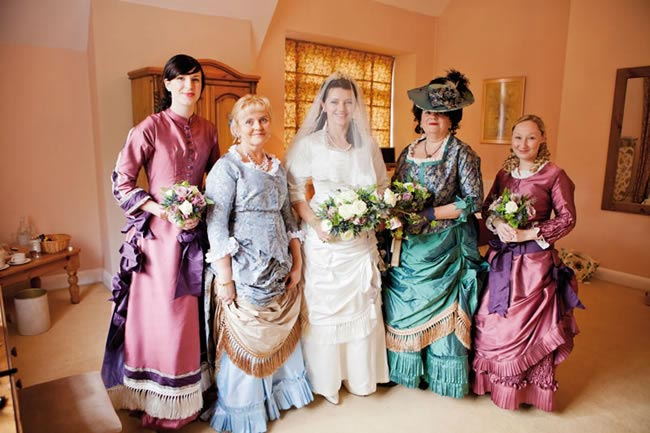 victorian-wedding-theme-dresses-details-girls