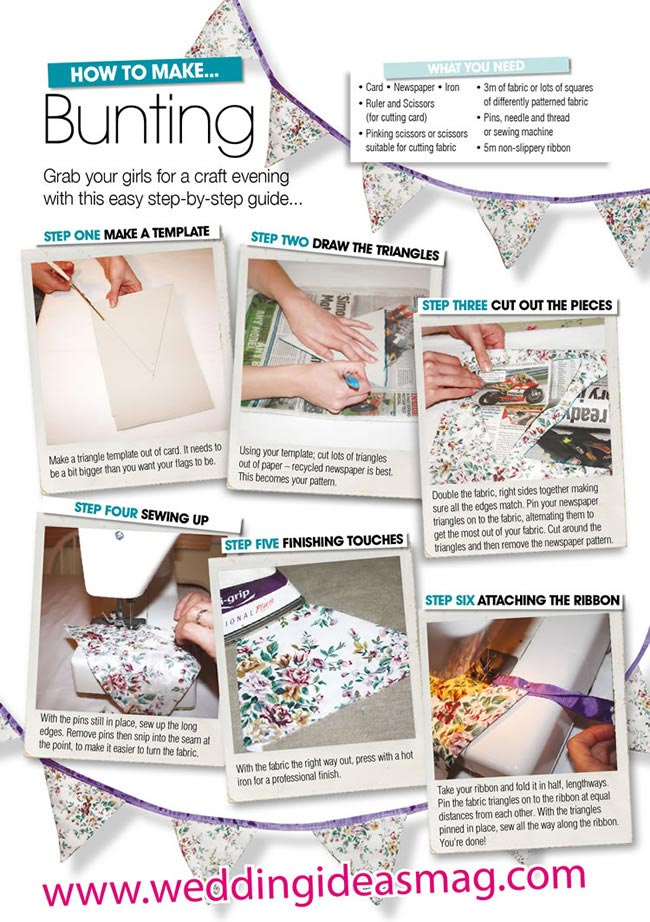 how-to-make-bunting