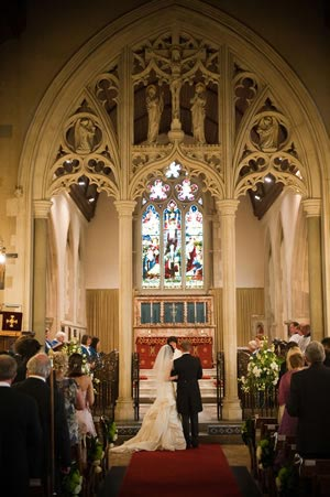 Gorgeous church wedding © source-images.co.uk