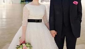Romana-John-real-wedding
