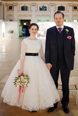 Romana John Real Wedding