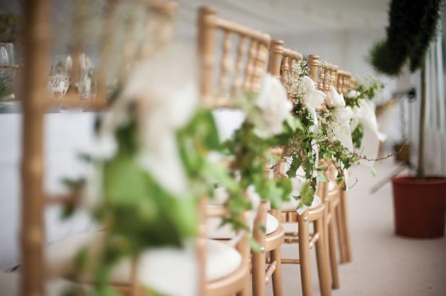This couple's absolute love for Summertime inspired the theme for a Wimbledon Tennis Wedding featuring tennis courts, an English tea party and Pimms!