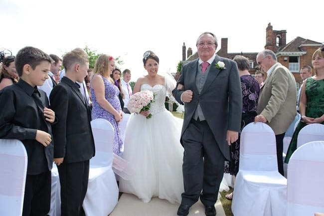 procession The A-Z of British Wedding Traditions and Etiquette