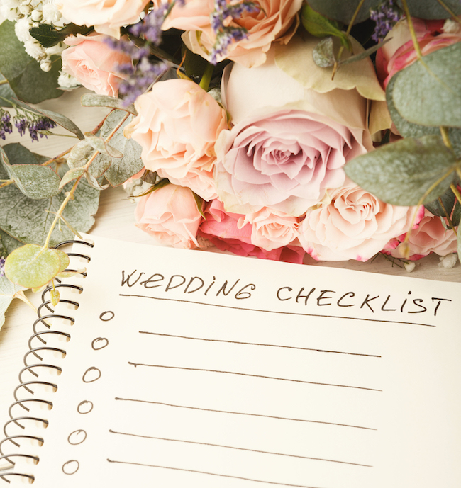 Image result for wedding planning checklist