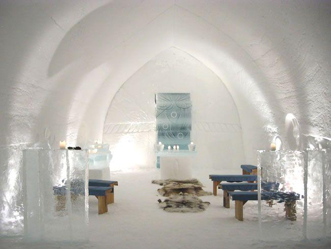Kakslauttanen hotel in Finland