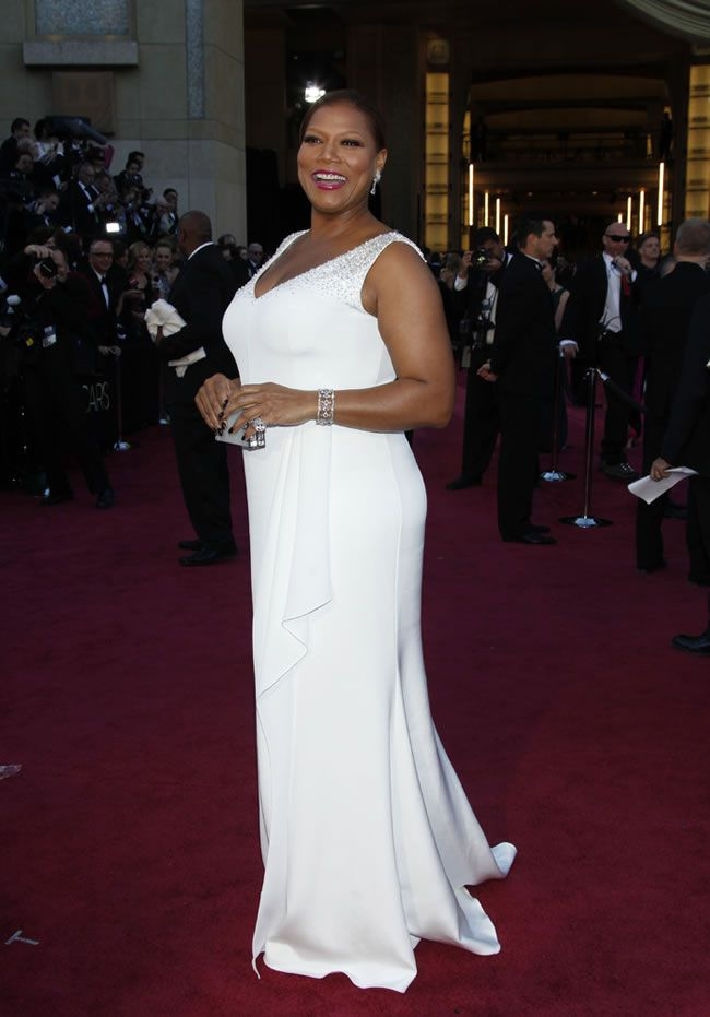 Queen Latifah Oscar Dress