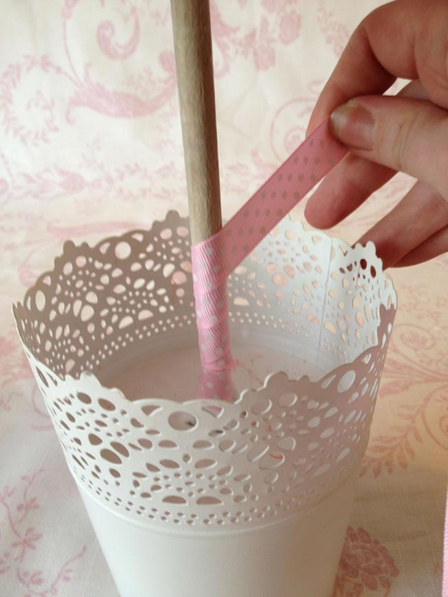 Sweet Tree step Ten - How to Make Sweet Tree Centrepieces for Your big day