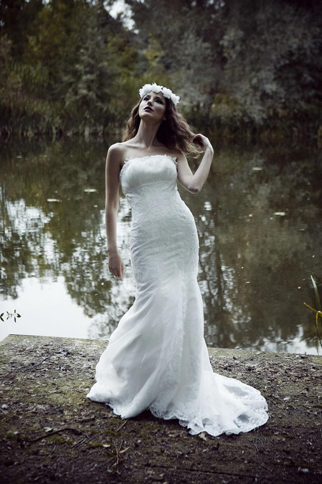 Countess Carmel gown, £395