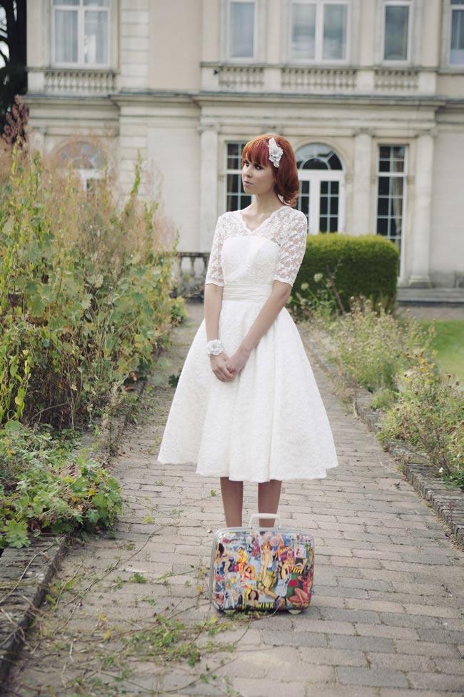 Dame Dulcie bridal gown, £350