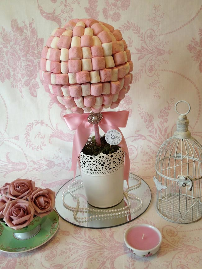 Homemade sweet tree - How to Make Sweet Tree Centrepieces for Your big day