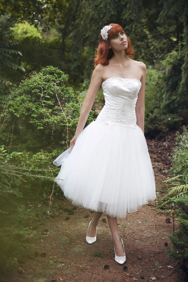 Madame Minnie bridal gown, £350