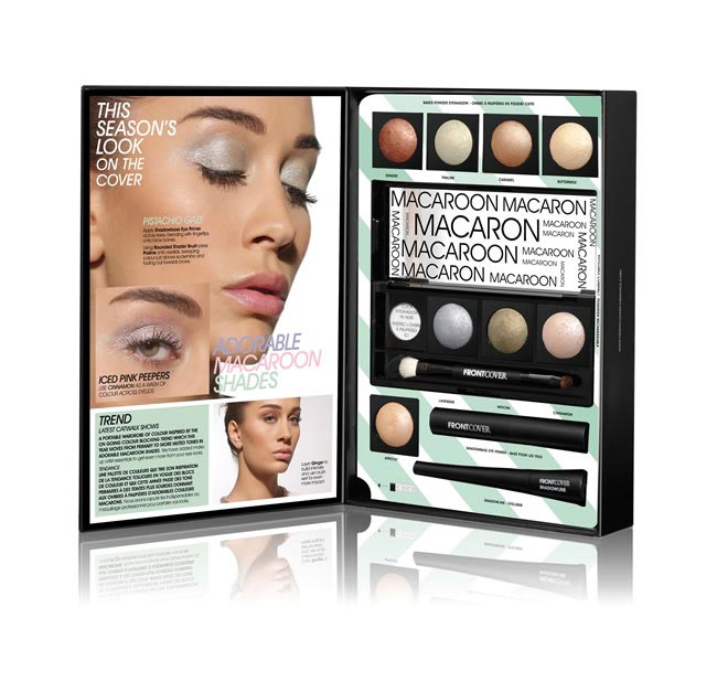 Macaron make-up from Front Cover - £20
