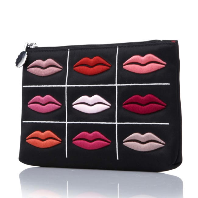 QVC 154320 - Lulu Guinness Lips Grid Purse £52.50