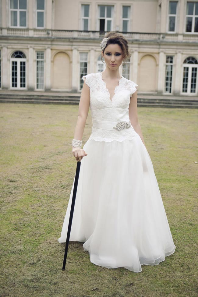 Queen Kitty bridal gown £395