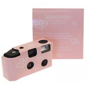 Pink Disposable Camera