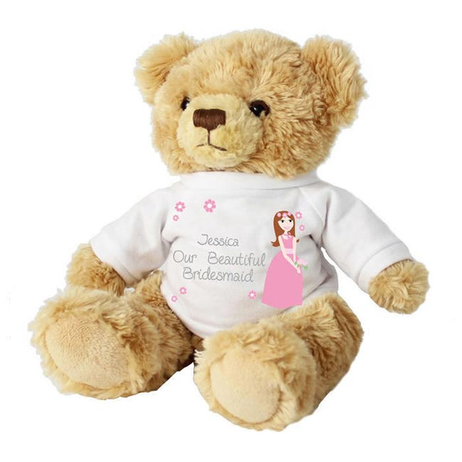 Bridesmaid teddy - £14.98 from Confetti