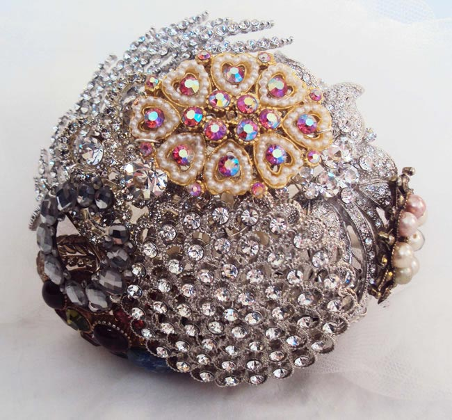Making Your Own Wedding Flowers: How To Make Your Own Bridal Brooch Bouquet