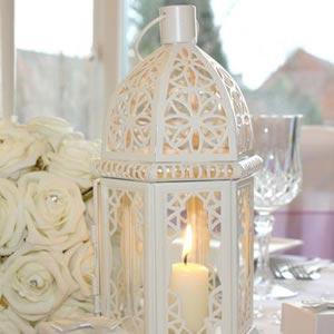 Cream Wedding Lantern
