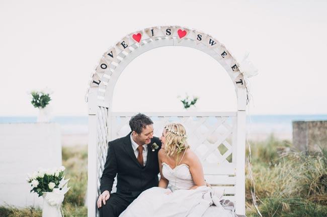 eco chic wedding mattbowenphotography