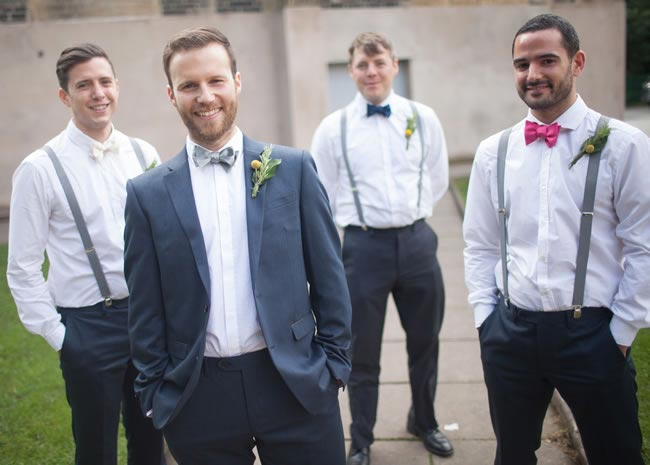 The ultimate wedding planning list for grooms