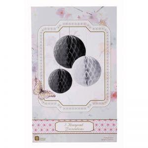 Black & White Honeycombs