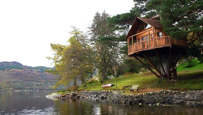 Scotland Treehouse Wedding