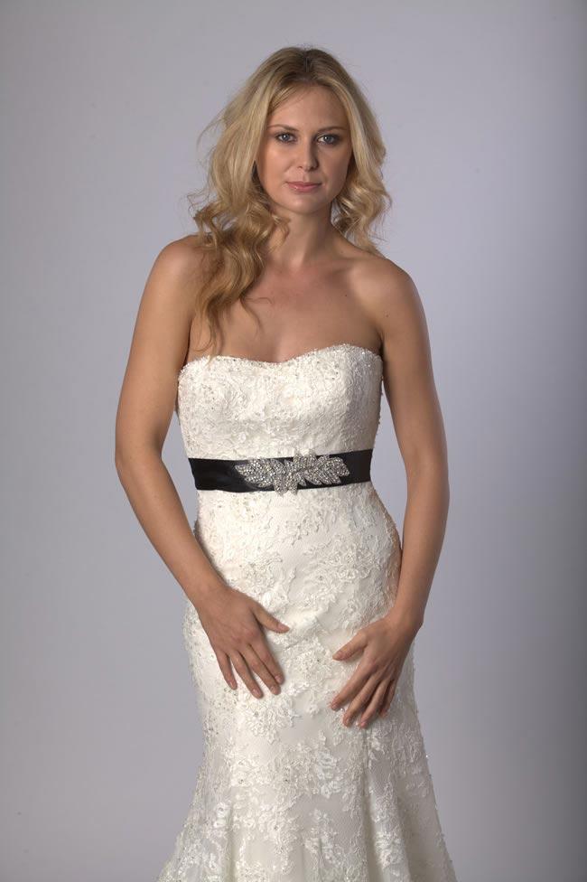 Orla bridal sash by Sash and Co at Liberty in Love - £95