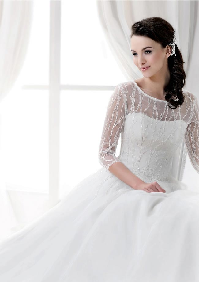 agnus wedding dress