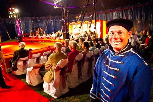 circus themed big day andrewbillingtonphotography