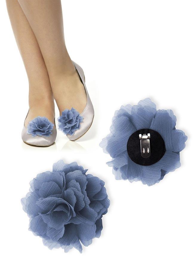 floral shoe clips dessy