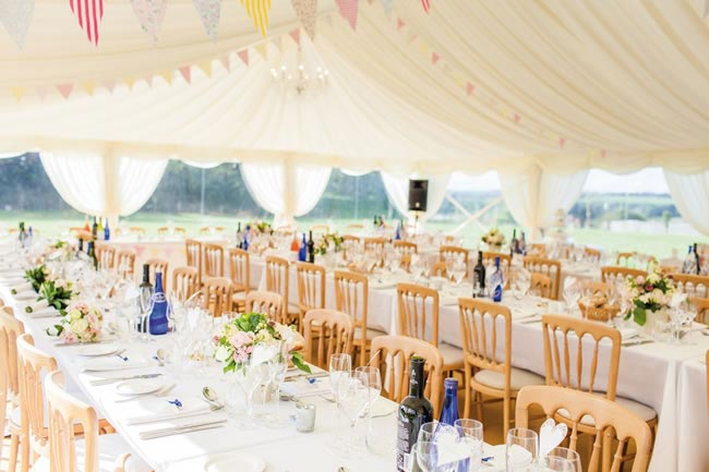 summer wedding in a marquee johastingsphotography